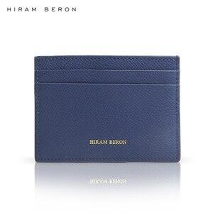 Хирам берон обычай имя бесплатно кошельки для мужчин минималистский карты аллет мужской бизнес подарок для друзей Прямая поставка