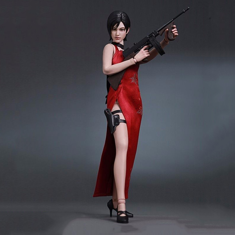 1/6 Scale Resident Evil 4 Ada Wong Female Full Set Action Figure Model Toys Game Version Children Toys Gifts Collections collectible 1 6 jill valentine action figure resident evil model toys feamle full set figures in stock