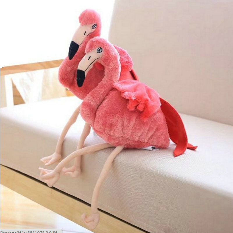 Flamingo Plush Toy Pillow Pink Flamingo cushion Baby girl Princess room Decoration Kids Doll Girls Gift Home decorate flamingo flamingo босоножки розовые