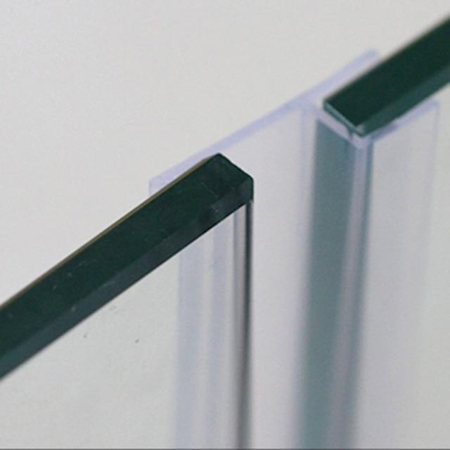 Marketing 6 8 10 12mm Glass Seals Frameless Shower Door Window