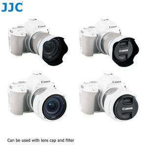 Image 3 - Lens Hood Canon EOS 90D 80D 70D 77D, canon EF S 18 55mm f/3.5 5.6 is STM, canon EF S 18 55mm f/4 5.6 is STM değiştirir EW 63C