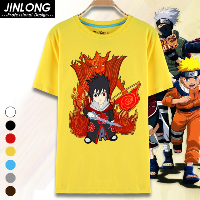 Naruto 100% Cotton Unisex T shirts