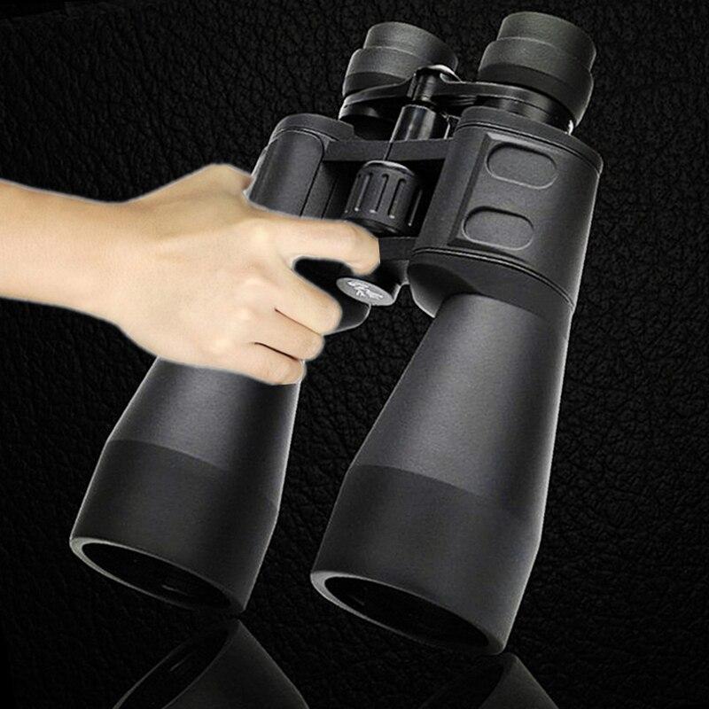 Jumelles grand zoom télescope extérieur Camping et chasse 10-380*100 militaire Standard Grade Anti-buée HD pour la randonnée