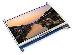 """Image 3 - Waveshare 7 """"hdmi 液晶 (c) 容量性タッチスクリーン ips サポートラズベリーパイゼロ/ゼロ w/ゼロ wh/2B/3B/3B + コンピュータモニター"""
