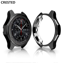 Frontier-Case Crested-Gear Galaxy Watch Samsung S3 for 46mm Reloj-Cover Soft Tpu-Plated