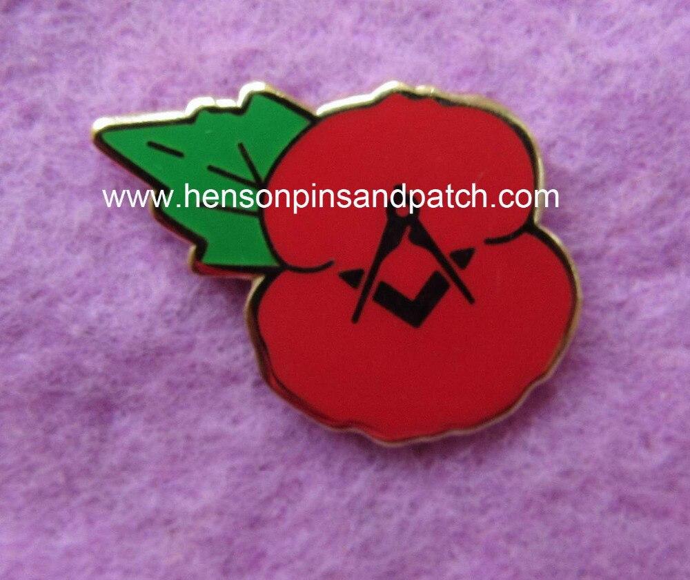 China Factory Custom Imitation Hard Enamel Pin Badge For Memorial