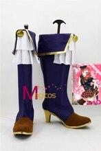Anime Lovelive! Fruitfredsh Nishikino Maki Azul Botas Zapatos de Fiesta Cosplay Por Encargo