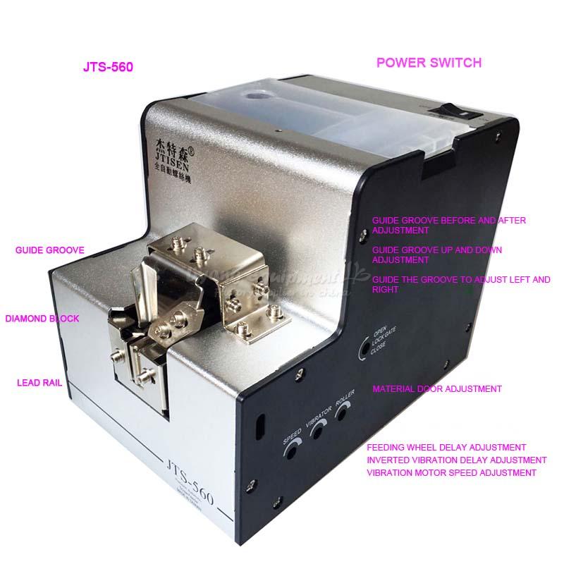 JTS-560 Automatically arranged adjustable track 1050 screw machine no tax to RU EU automatically screw feeder arrange feeding machine screw counter 1 0 5 0mm adjustable
