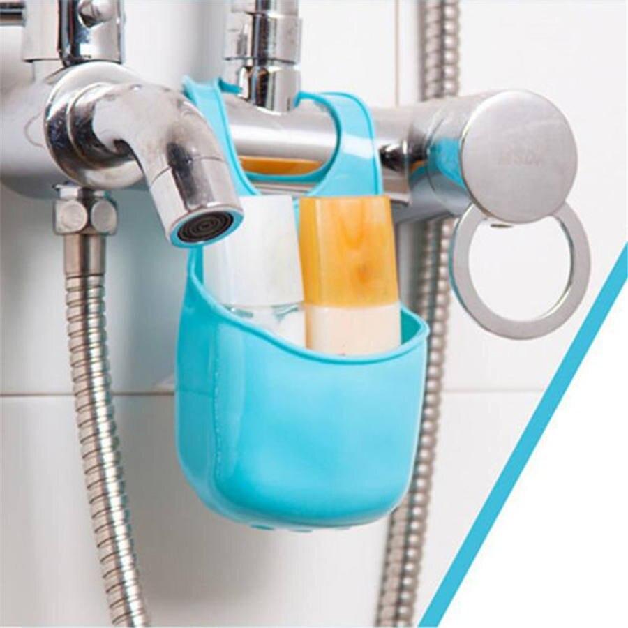 1PC Kitchen Sink Sponge Holder bag Bathroom Soap Hanging Shelving ...