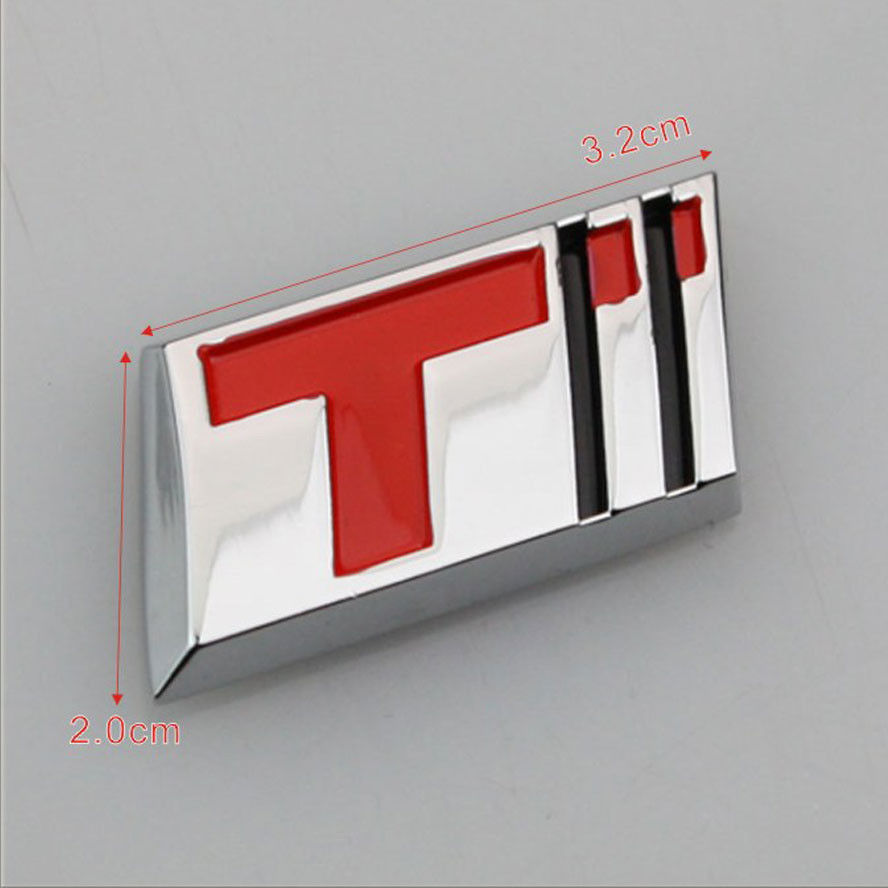 BBQ@FUKA Auto Car-styling Trunk Badge Metal T Turbo Emblem Sticker Fit for Cruze Excelle Regal HRV Car decal accessories