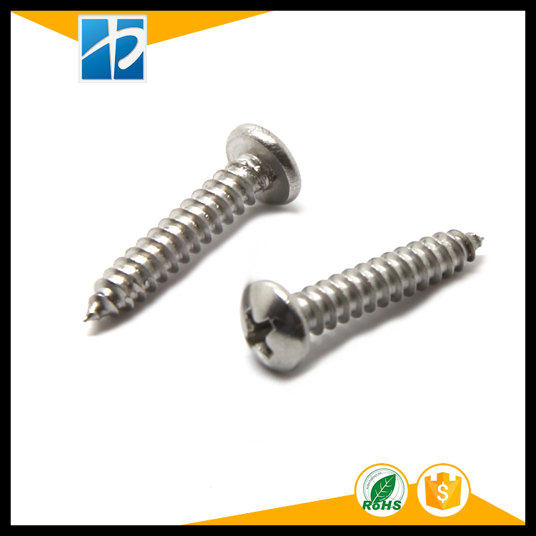 (50 pc/lot) ST2.0,ST2.6,ST3,ST4,ST5 *L=3,4,5,6,8,10,12 stainless steel CROSS RECESSED PAN HEAD SELF TAPPING SCREW 100pcs lot st2 9 st3 9 st4 2 st4 8 stainless steel self tapping anti theft screw sus304 flat head self tapping torx screw