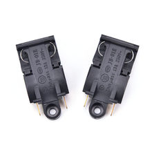 High Quality 2PCS Black 13A Switch Electric Kettle Thermostat Switch Steam Medium Kitchen Parts Accessories(China)