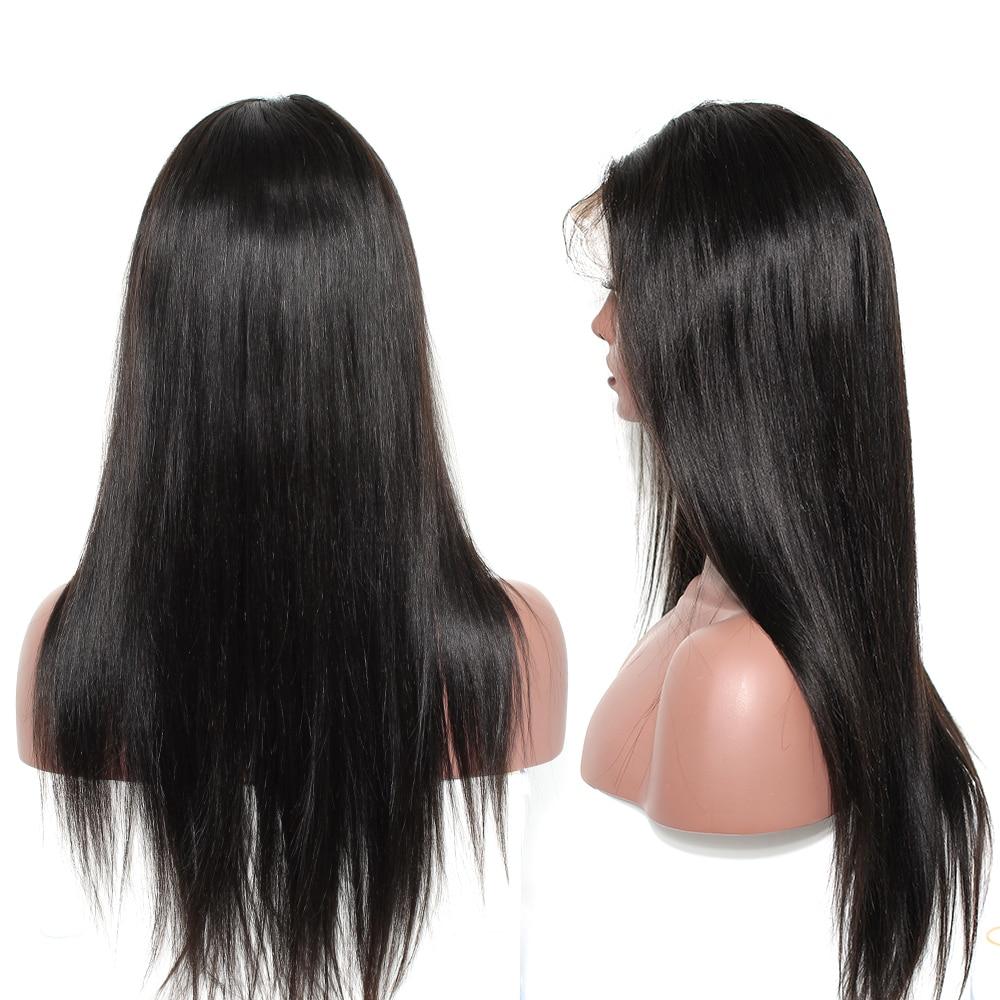 360 მაქმანი წინა ფეხი - ადამიანის თმის (შავი) - ფოტო 5