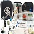 79 в 1 набор для выживания на открытом воздухе  набор для кемпинга  путешествий  многофункциональная аптечка  SOS  EDC  аварийные принадлежности  ...
