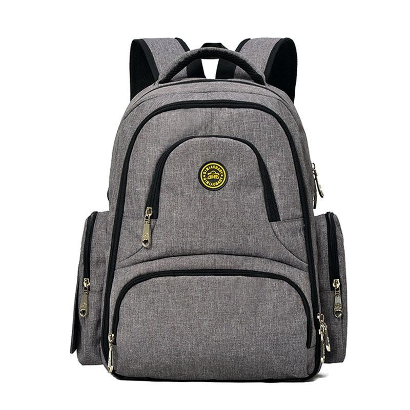 यात्रा के लिए ब्रांड डायपर नैपी बैकपैक्स बड़ी क्षमता बहु प्रसूति मातृत्व माँ मातृ बैगन के लिए बेबी बैग