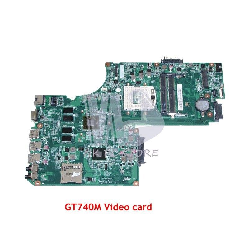 NOKOTION DA0BD6MB8D0 A000243780 Laptop Motherboard Para Toshiba Satellite S70T S70 S75 Placa Principal HM86 DDR3L GT740M GPU