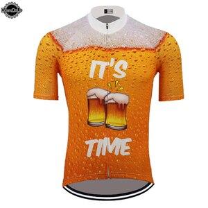 Image 2 - Wielokrotne wybory koszulka kolarska do piwa mężczyźni z krótkim rękawem ropa ciclismo triathlon odzież rowerowa odzież rowerowa mtb jersey MTB