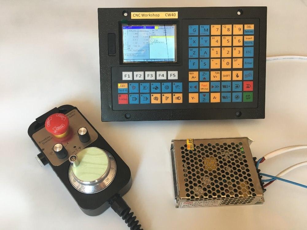 4 трехосный контроллер ЧПУ USB CNC управление Замена mach 3 фрезерная гравировка маршрутизатор Степпер с сервоприводом управление маховиком бло