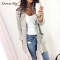 Spring Autumn Fashion Women Long Sleeve Loose Knitting Cardigan Sweater Womens Knitted Female Cardigan