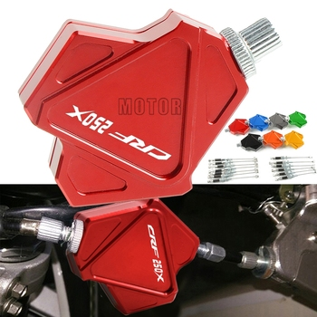For Honda CRF250X 2004-2017 CRF250 CRF 250X 250 X Motorcycle CNC Motocross Dirt Bike Stunt Clutch Lever Easy Pull Cable System image