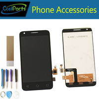 High Quality White Color For Alcatel OT5017 LCD Display And Touch Screen Digitize 1PC Lot