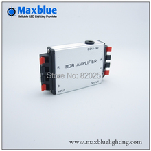 Free shipping DC12V/24V rgb amplifier for rgb strip connecting