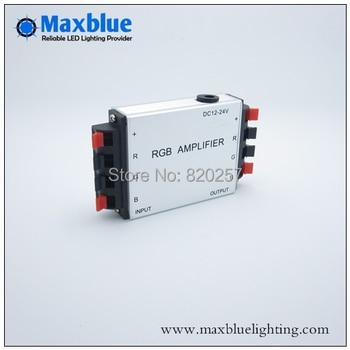Free shipping DC12V/24V rgb amplifier for rgb strip connecting