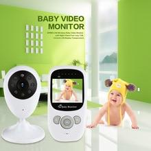 Infantile 2.4 GHz Sans Fil Bébé Radio Baby-Sitter Numérique Vidéo Bébé Moniteur Audio Night Vision Music Affichage de La Température Radio Nounou