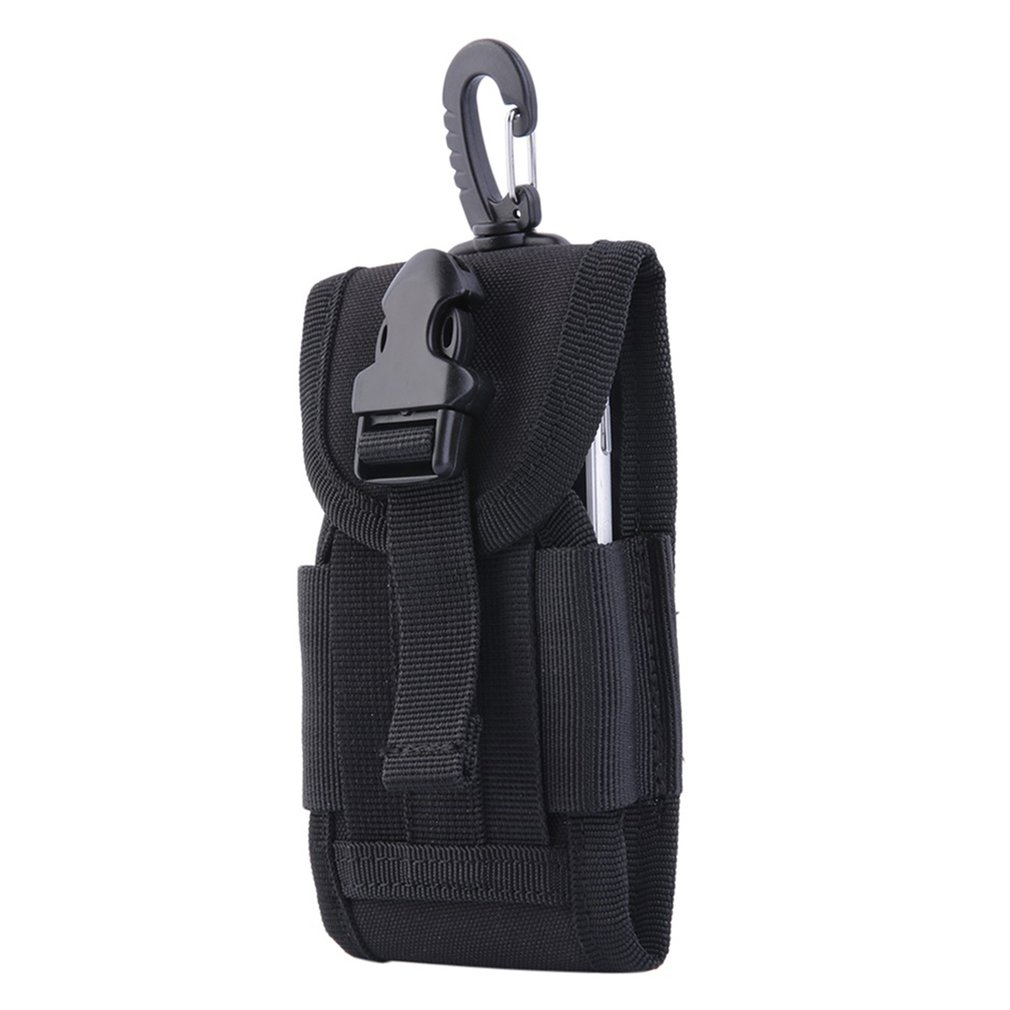 4.5 inch Oxford Army Tactical Bag for Mobile Phone Camera With Hook Hard Wearing & Heavy Duty Cover Pouch Case Travel Kit Bags