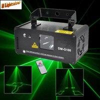 DMX 100mW Green Laser Stage Lighting Scanner Effcet Xmas Bar Dance Party Show Light DJ Disco