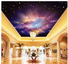 3d wallpaper living room Star Dream living room ceiling Home Decoration Non woven wallpaper parded papel(China)