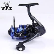 W.P.E ALPHA 2000 3000 4000 5000 Series Spinning Fishing Reel 9+1 BBs 8 KG Max Drag Power 5.1:1 High Speed Carp Wheel