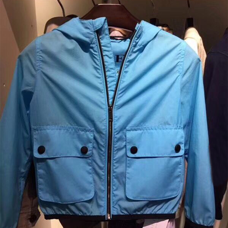 цена на Kids 2 colors Jackets Hoodie Boys Autumn Winter Outerwear Coat Children Fashion hooded Jacket Windbreaker Children's Clothing