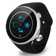 Cool C5 1 22 inch Round Screen Sports Smartwatch Phone MTK2502 Remote Camera Heart Rate Sleep