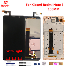 Xiaomi Redmi Note 3 LCD Display Touch Screen + Tools 100% Original 1920X1080 FHD Digitizer Assembly Replacement For Phone -Black
