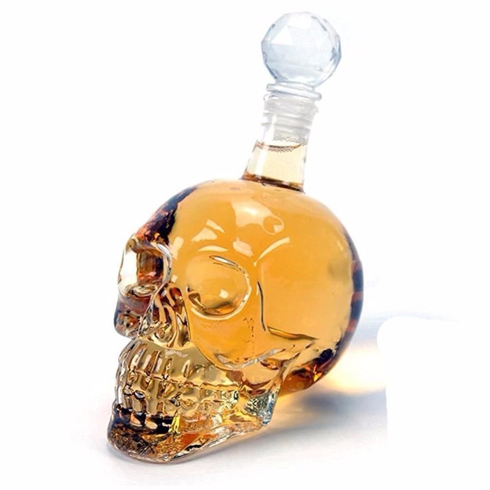 Crystal Skull Head Decanter 1
