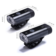 Newly Bicycle Front Light USB Rechargeable LED Head Lamp Handlebar Lantern Bike Cycling Flashlight BF88