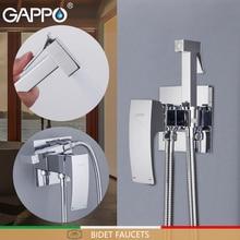 GAPPO бидец латунь туалет спрей хромированный полированный Смеситель кран биде для ванной комнаты Биде Душ Туалет вода спрей для ванной душ