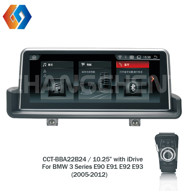 10.25 Car Radio Android 1 Din Multimedia For BMW 3 Series E90 E91 E92 E93 2005 2012 Supply With iDrive Controller Hotsale LHD 24