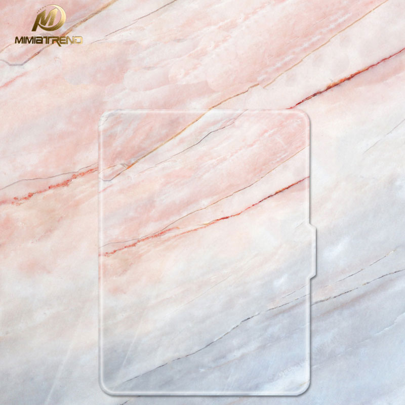 Mimiatrend For Kindle Paperwhite Case, PU Folio Stand Smart Cover Marble Grain Case Auto Wake/Sleep for Kindle Paperwhite case cover for kindle paperwhite 123 ebook pu leather folio flip smart sleep wake up protective case cover vintage texture