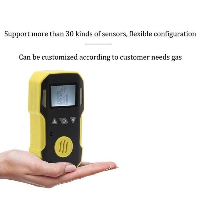Детектор Утечки Газа O3 Озон Мониторы со звуком + свет + шок сигнализации газовый детектор профессиональное O3 Air газа анализатор Сенсор