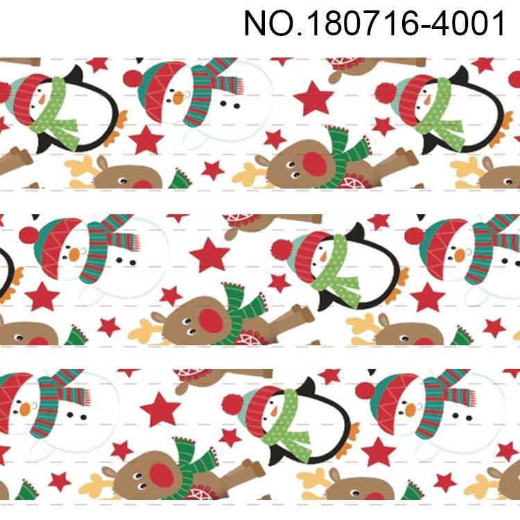 "wide Santa Hats 1 2 5 10 metres Christmas Printed Grosgrain Ribbon 10mm 3//8/"""