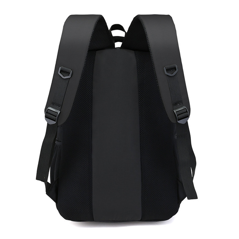 141f68961ee6 2018 New Design Casual Solid Color Material Oxford Man s Backpack Multi  functional Large capacity Student Schoolbag Simple Bag-in Backpacks from  Luggage ...