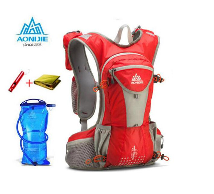 Aonijie mochila hidratación maratón corriendo senderismo correr ciclismo paquete