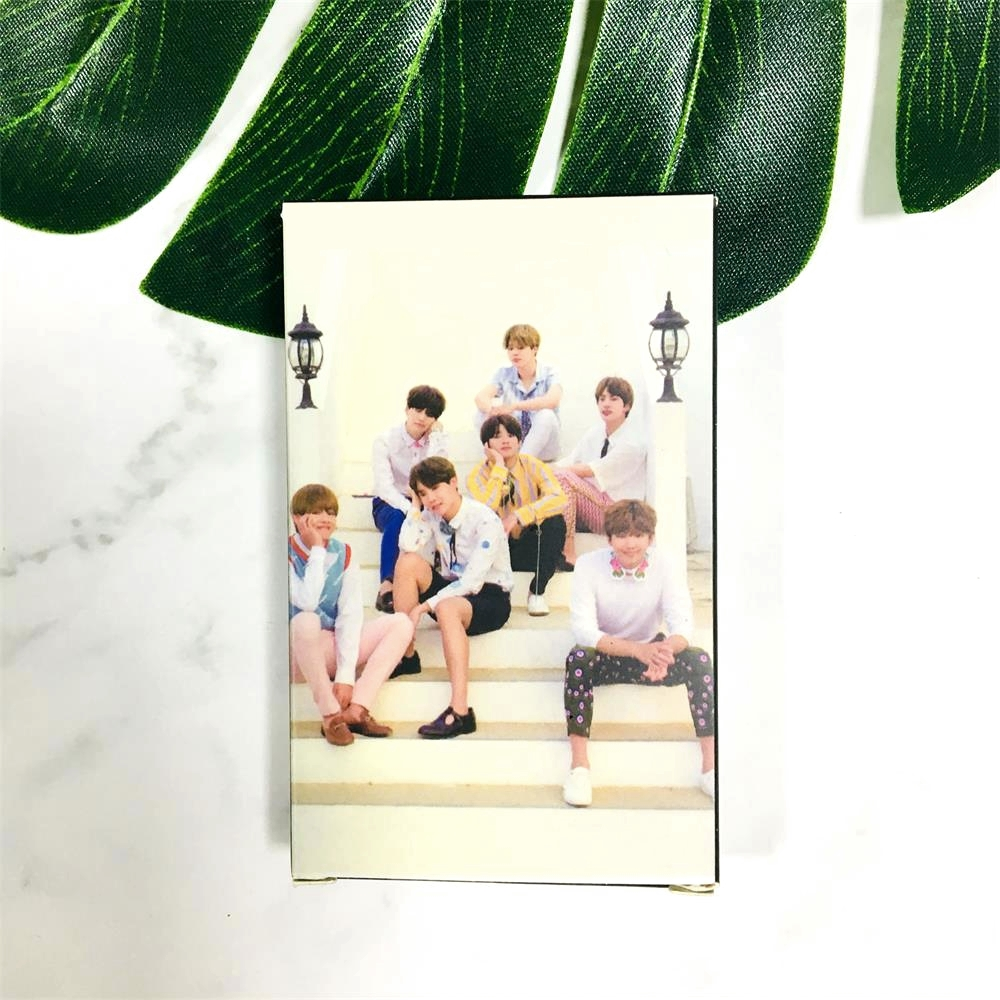 Features: 30pcs HD BTS latest magazine photocard, size just as play card,  easy to carry about, worth collecting for ARMY