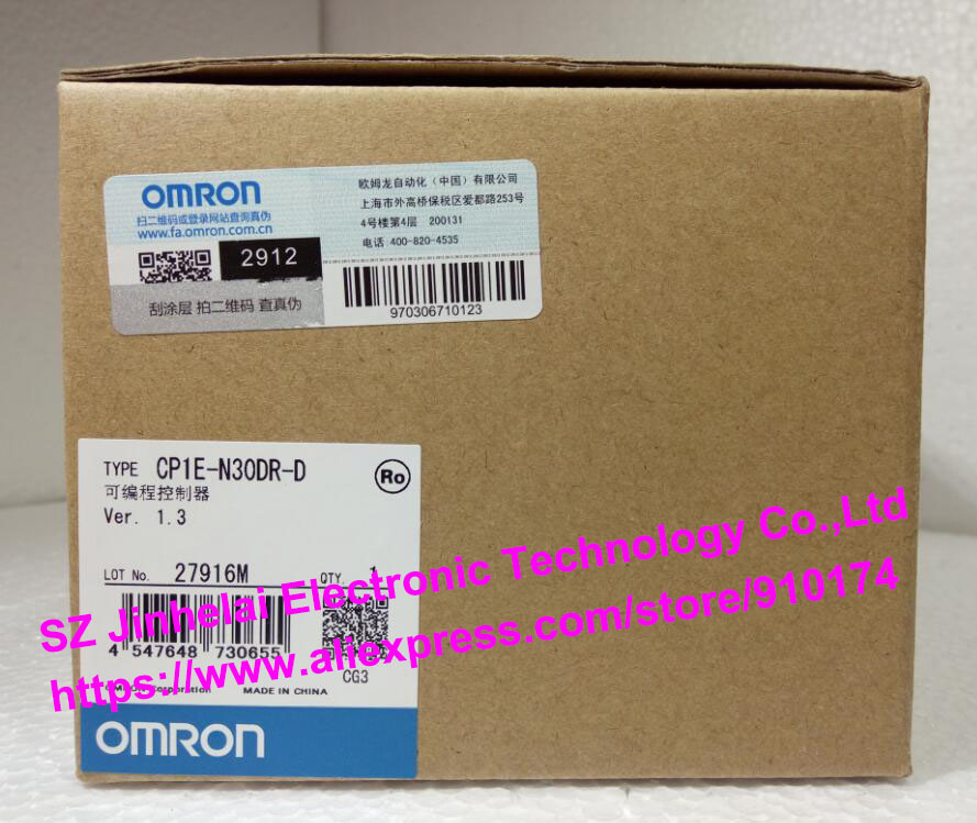 New and original CP1E-N30DR-D OMRON PLC controller cp1e e30sdr a new and original omron plc controller
