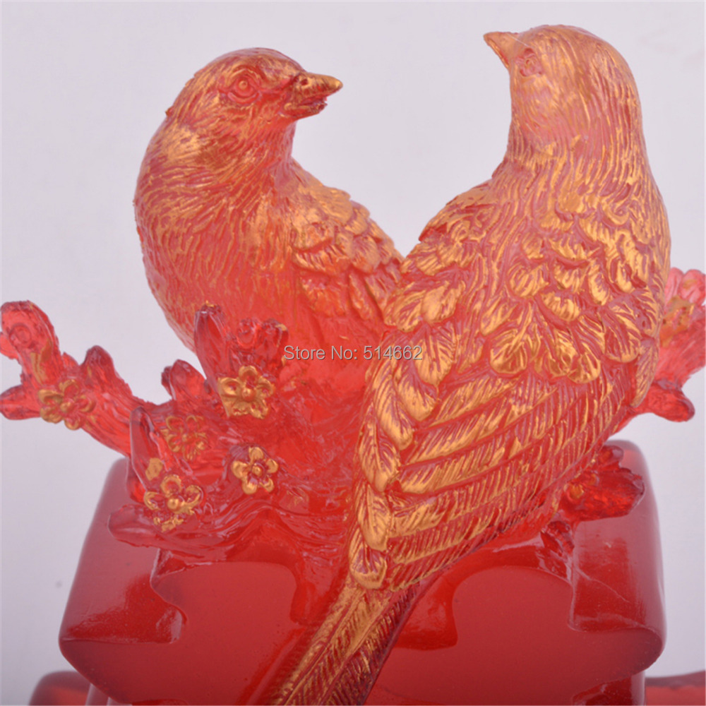 Feng Shui Double Happiness Love Birds Q1004