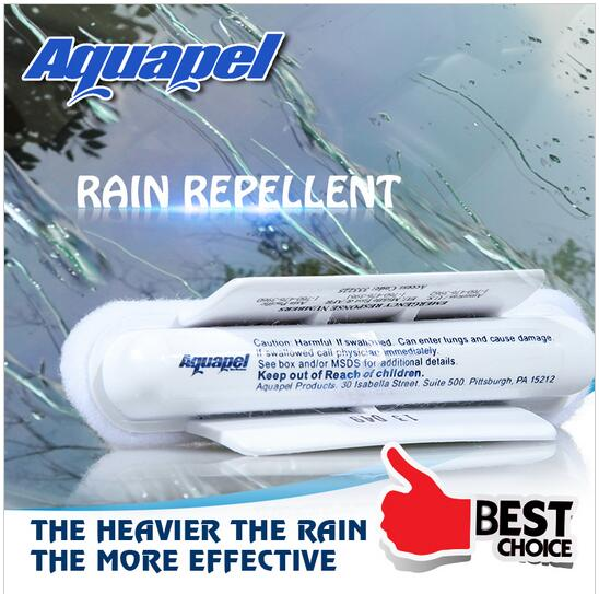 Universal Car Wipers 1 PC AQUAPEL Windshield Glass Water Rain Repellent white