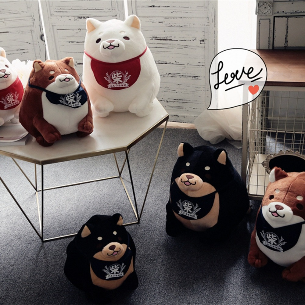 1pcs  Shiba inu dog plush toys faithful dog rice cakes dog doll doll children's day birthday boys and girls cartoon dog plush pillow shiba inu toys for children gift contain plush flannel blanket bedroom cushion
