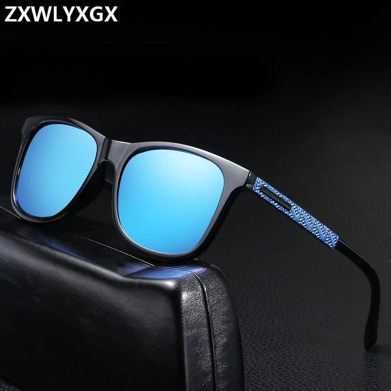 Sunglasses Men Polarized Oversized Mirror Driving Sun Glasses Man Brand Designer Retro Vintage Driver Sunglass Goggles UV400